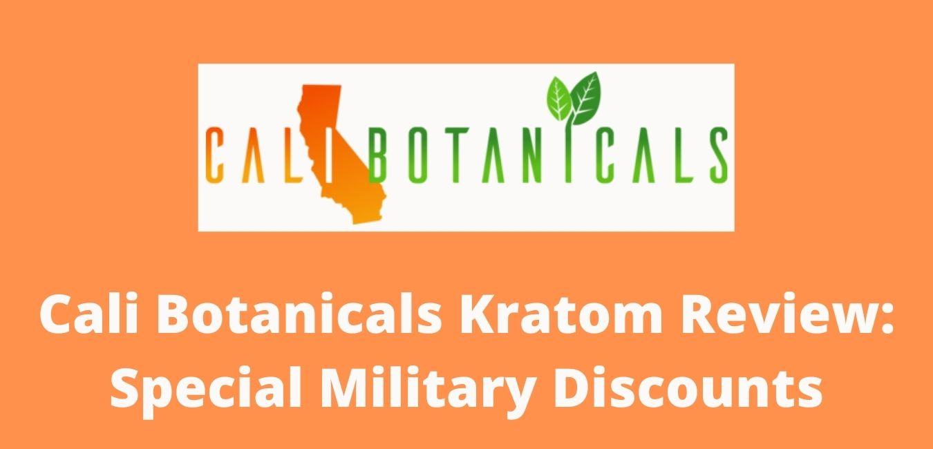 Cali Botanicals Kratom